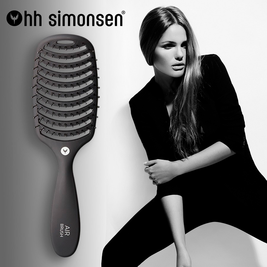 City Hairteam HH Simonsen air brush
